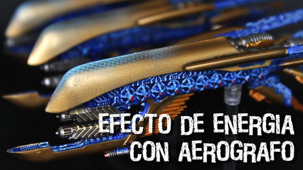 efecto energia aerografo